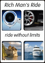 Rich Man's Ride - Best of the web in AVIATION, LUXURY CARS, WATERCRAFT and DESTINATIONS